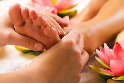 Hier gehts zu 45 Minuten Fußreflexzonen Massage