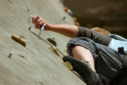Hier gehts zu Klettern und Bouldern