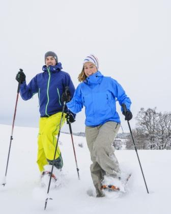 Schneeschuhwandern mit Improve your move